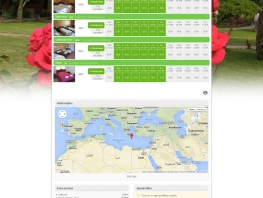 Availability in green theme